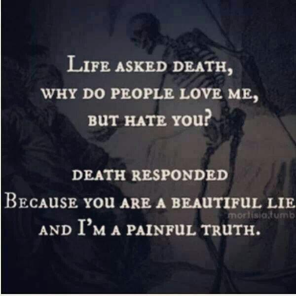 Sad Quotes About Depression: Death Life Sad Quotes. QuotesGram