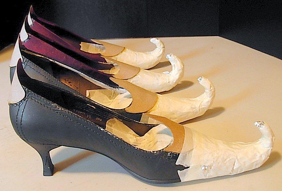 Как из старых туфлей сделать