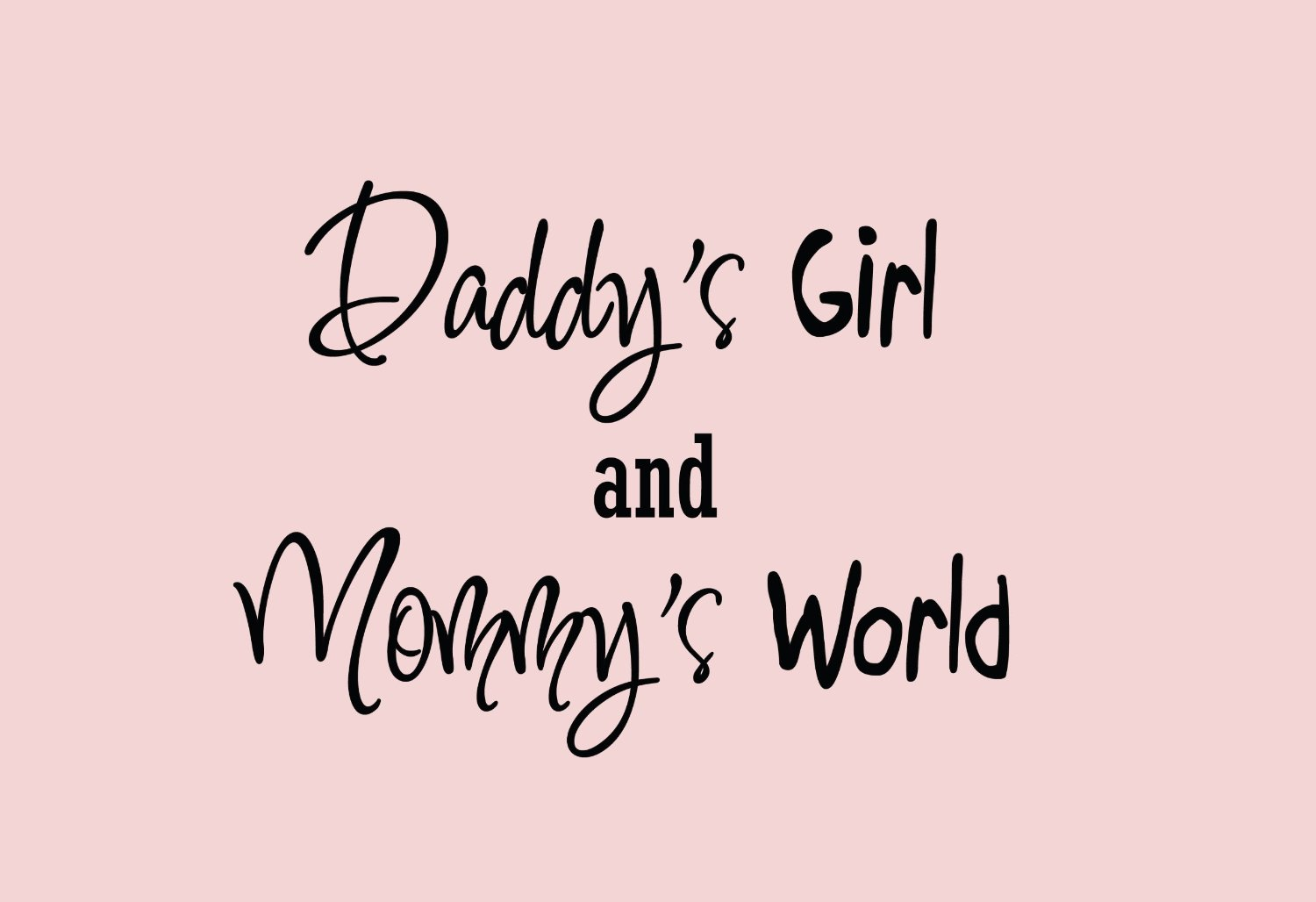 Daddys Quotes | 1995318755 Baby Room Quotes Mom and Daddy Say