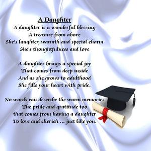 For My Daughter Quotes Graduation. QuotesGram