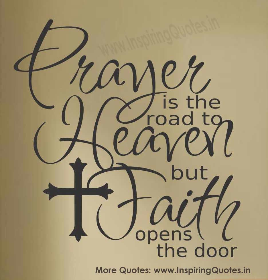 Quotes On Prayer: Quotes About Faith And Prayer. QuotesGram