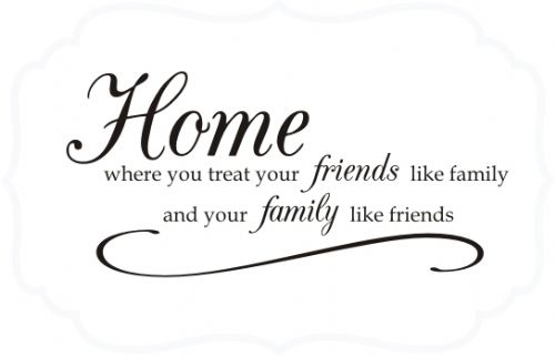 quotes about friends like family quotesgram. Black Bedroom Furniture Sets. Home Design Ideas