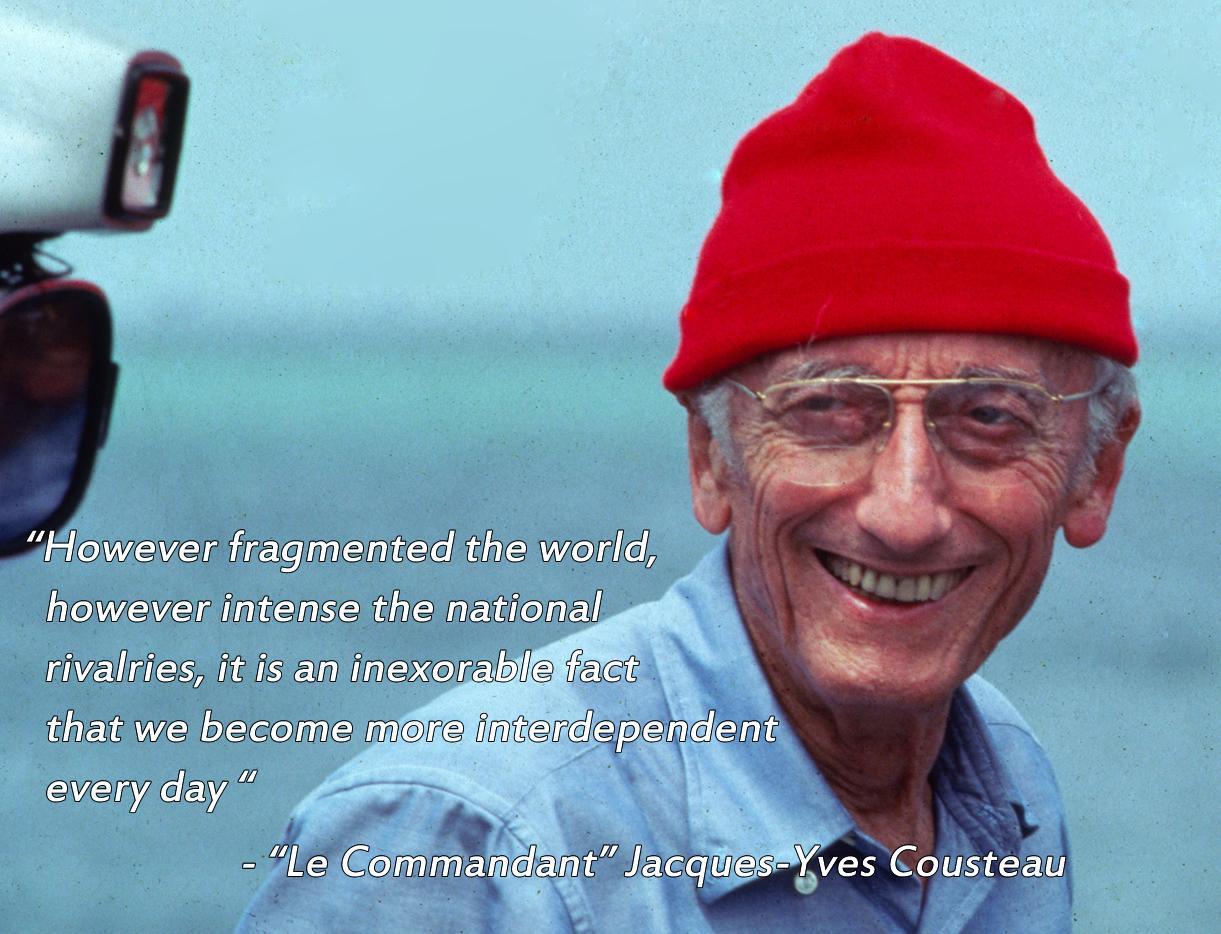 Jacques Cousteau Quotes Quotesgram