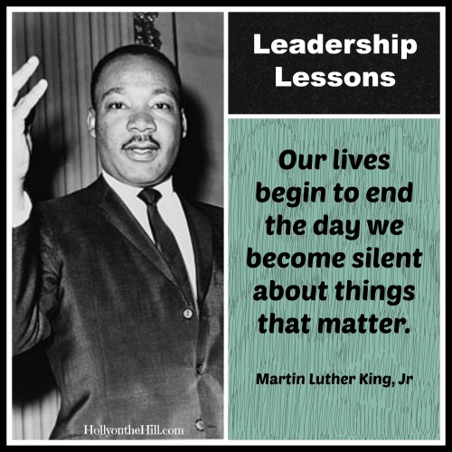 The Traits of a Leader: Dr. Martin Luther King Jr.