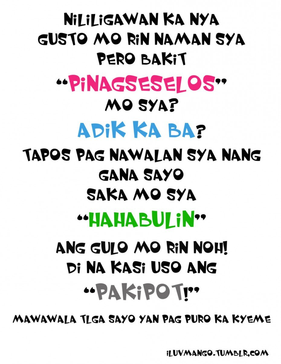 Tagalog Funny Quotes About Life. QuotesGram