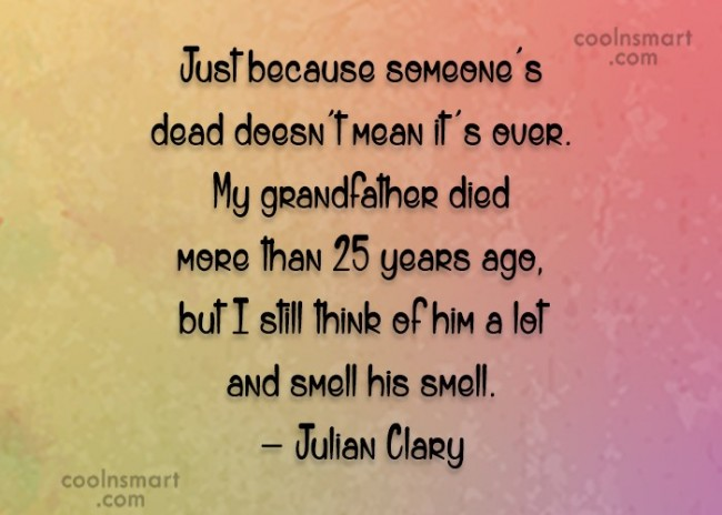 Proud Quotes For Deceased Grandfather. QuotesGram