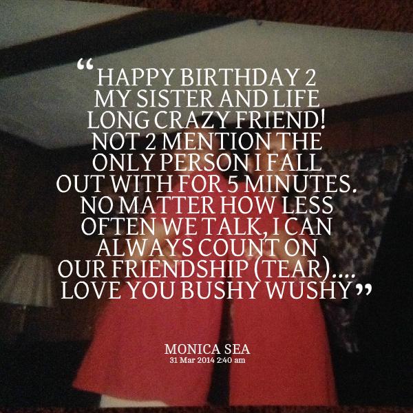 Happy Birthday Weirdo Quotes: Crazy Friends Birthday Quotes. QuotesGram