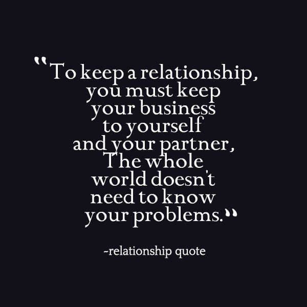 Keep Relationship Private Quotes. QuotesGram