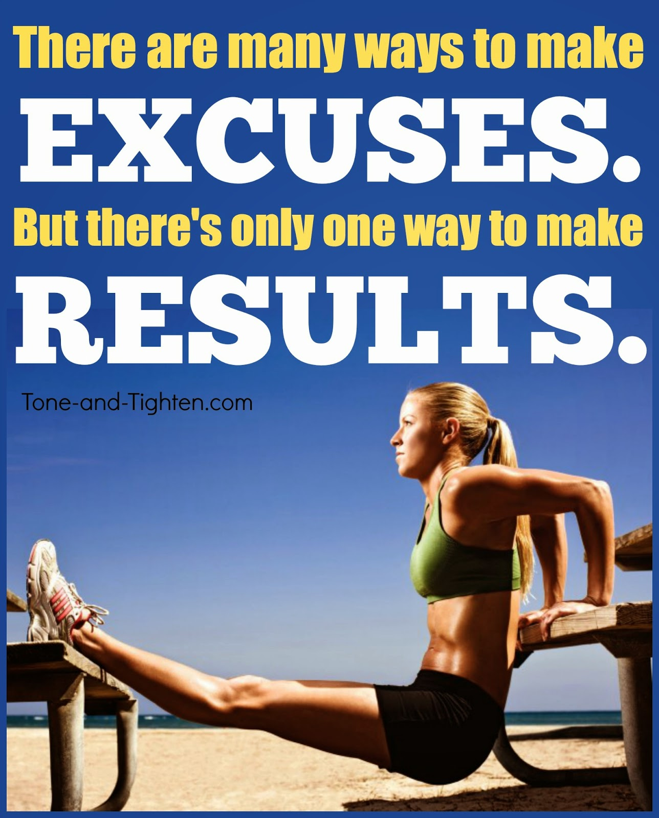 44 Inspirational Workout Quotes With Pictures To Getting: Workout Excuses Quotes. QuotesGram