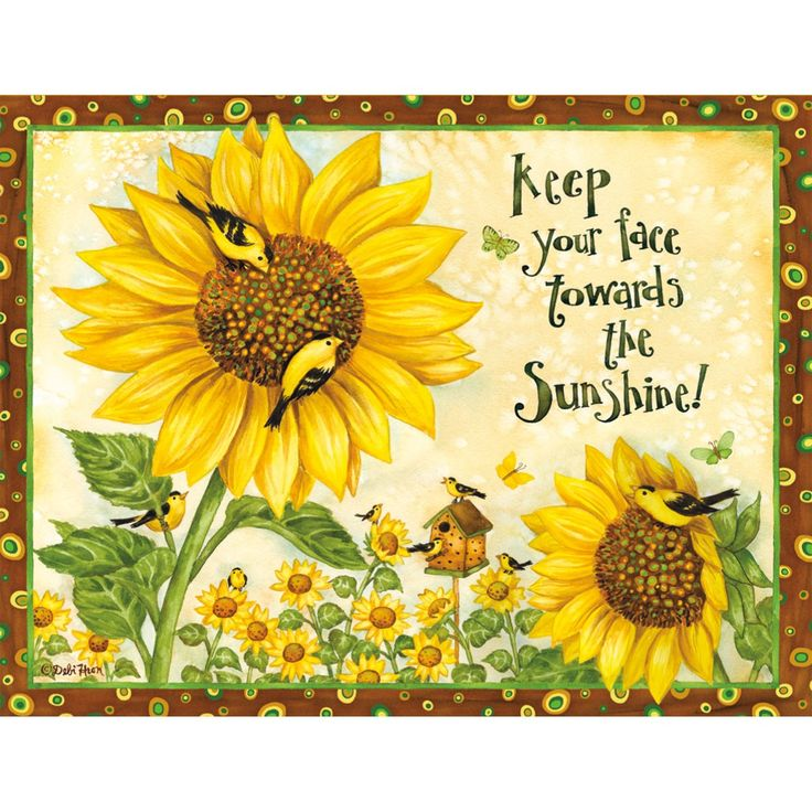 Sunflowers And Sunshine Quotes. QuotesGram