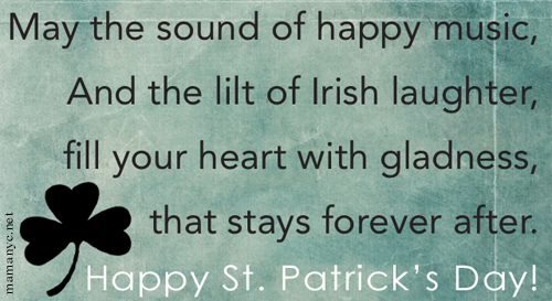 St Patricks Day Blessings Quotes. QuotesGram