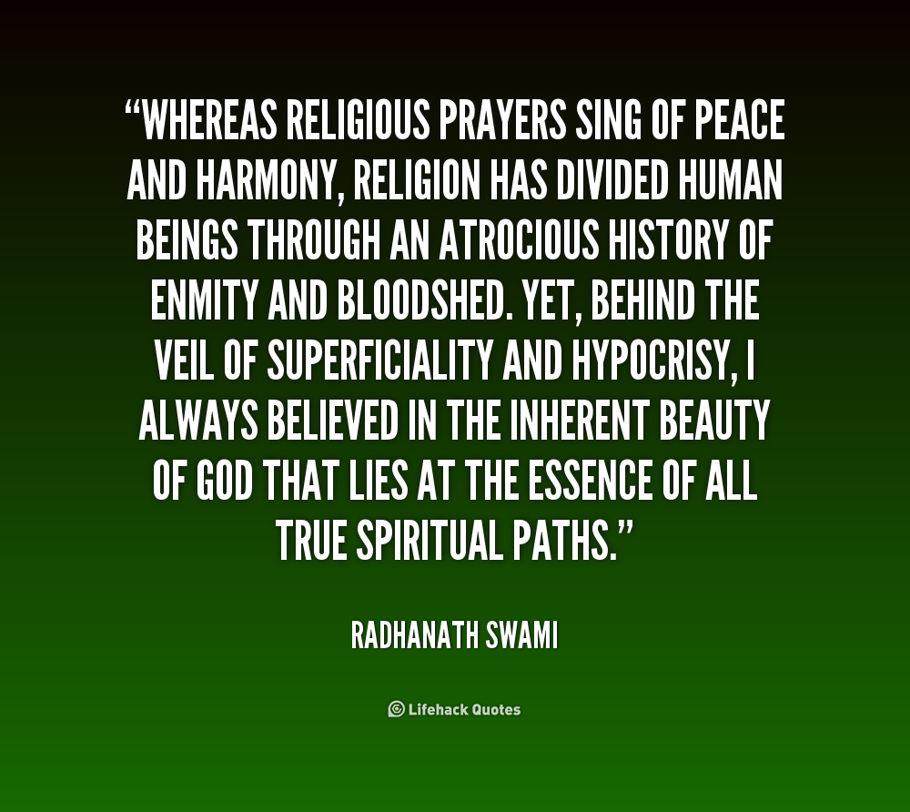 Quotes About Peace: Religious Quotes About Peace. QuotesGram