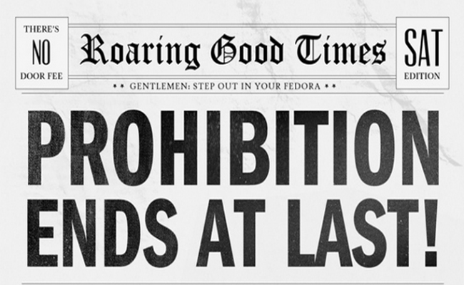 was prohibition a failure On december 5, 1933, the twenty-first amendment was ratified, repealing  prohibition and ending a thirteen-year experiment in legislated.