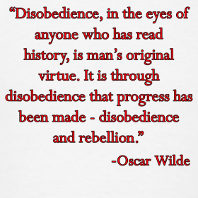 quote from civil disobedience Start studying civil disobedience learn vocabulary, terms, and more with flashcards, games, and other study tools.