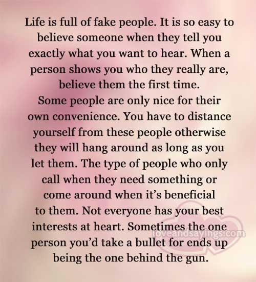 Best Quotes On Fake Peoples: Life Is Full Of Fake People Quotes. QuotesGram