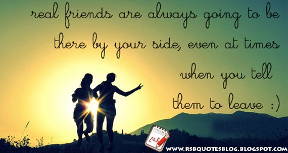Genuine friend quotes