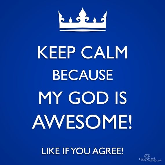 My God Is Awesome Quotes. QuotesGram