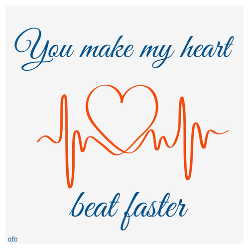 what makes a heart beat faster A fast or slow heart rate, extra or skipped heartbeats, or forceful,  but in the  absence of heart disease usually causes no other symptoms.