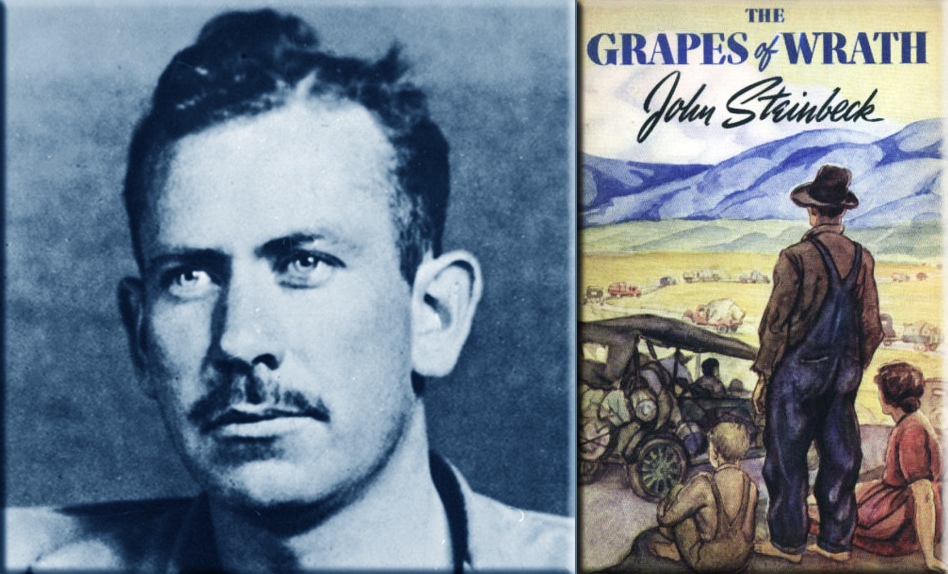 a look the different themes in the grapes of wrath by john steinbeck Need help on themes in john steinbeck's the grapes of wrath check out our thorough thematic analysis from the creators of sparknotes the grapes of wrath themes from litcharts | the creators of sparknotes sign in sign up lit guides lit at different times in the grapes of wrath.