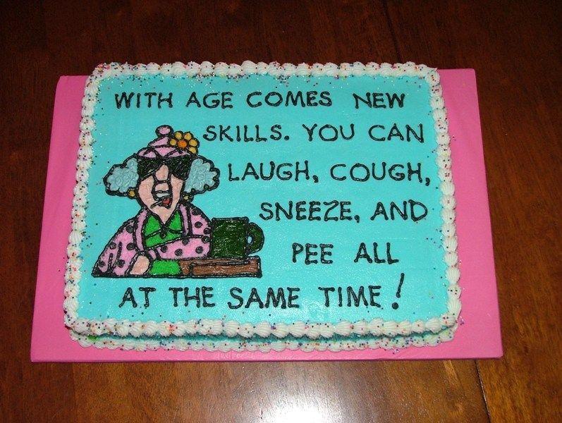 Happy Birthday Maxine Cake