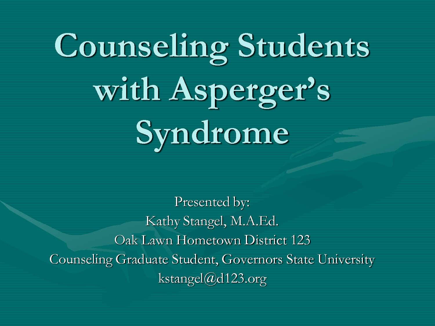 asperger syndrome 3 Asperger syndrome (as) is an autism spectrum disorder (asd) and part of a unique group of neurodevelopment disorders, all complex those affected by it suffer social impairment, difficulty.