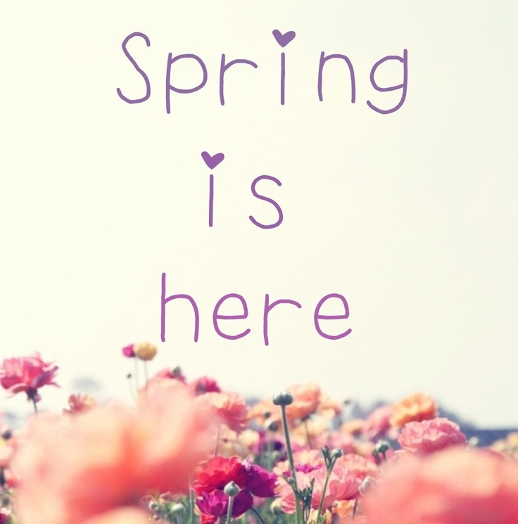 Inspirational Quotes About Positive: Spring Is Here Quotes. QuotesGram