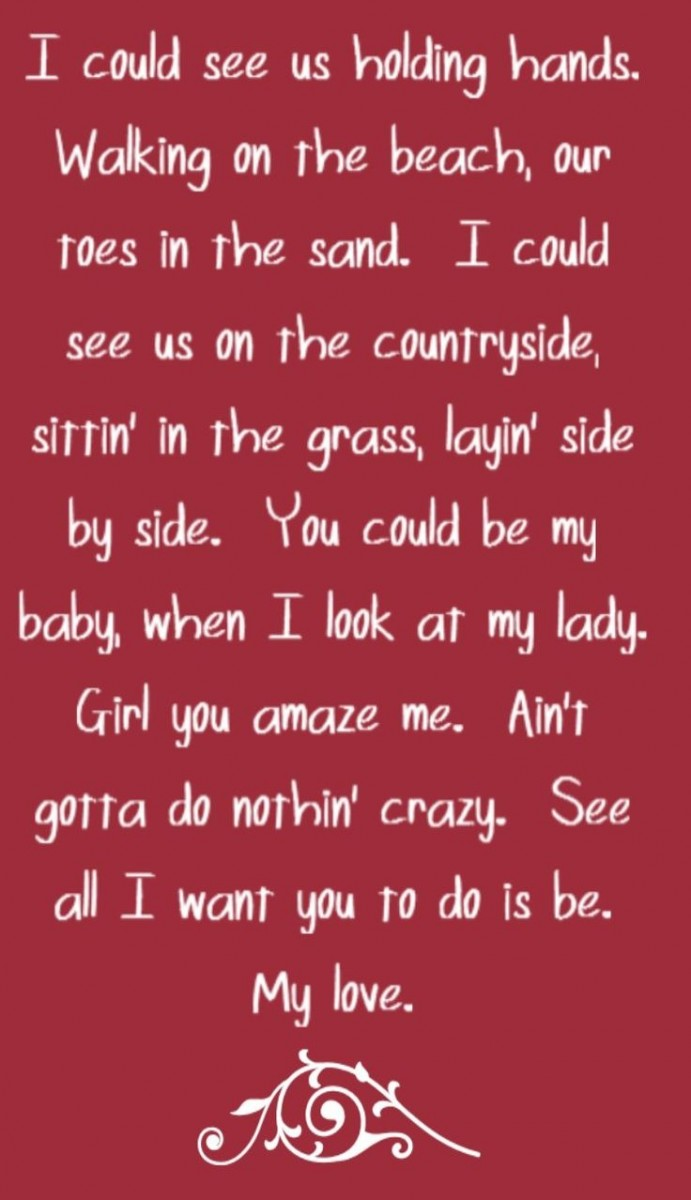 Love Quotes From Song Lyrics. QuotesGram