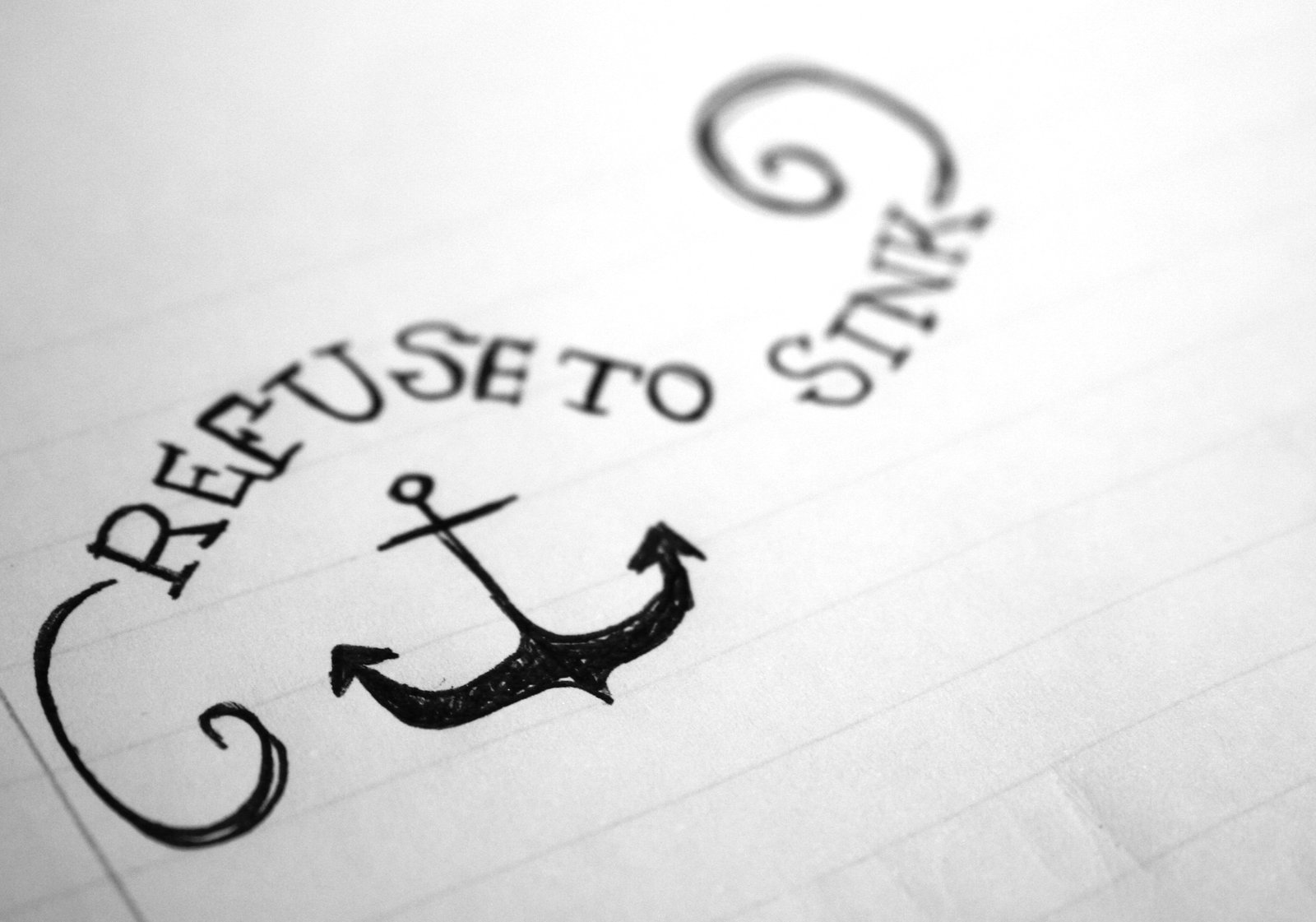 i refuse to sink anchor infinity wallpaper - photo #15
