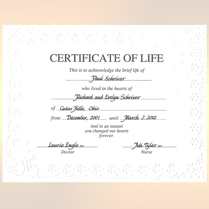 Miscarriage quotes and sayings quotesgram for Certificate of salvation template