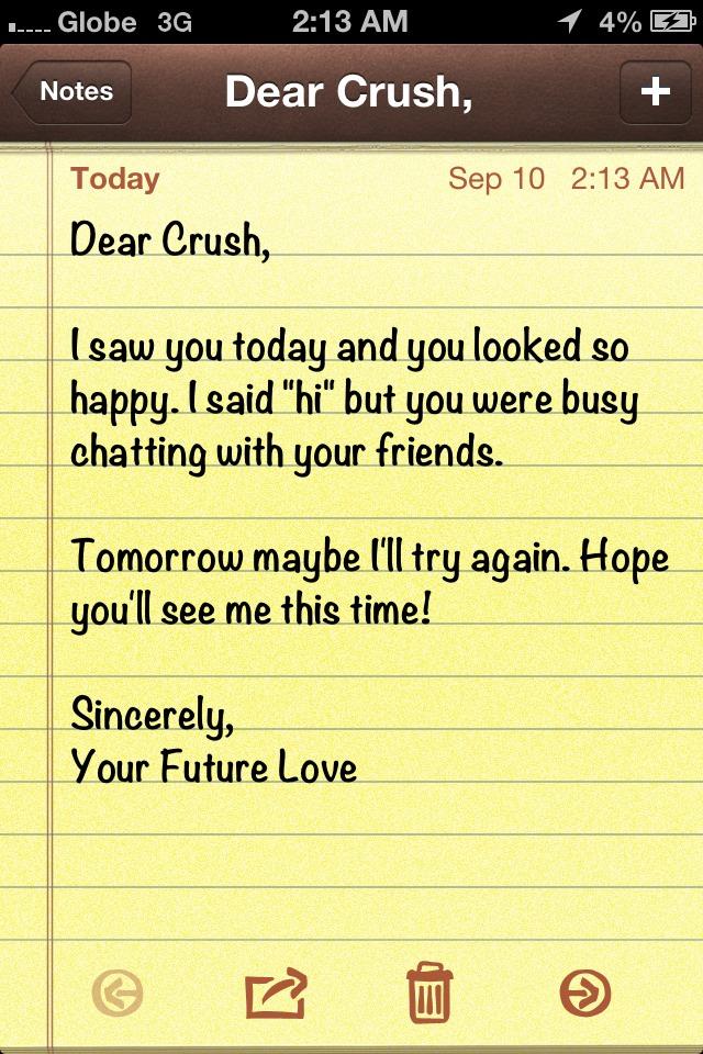 Dear Crush Quotes In English. QuotesGram