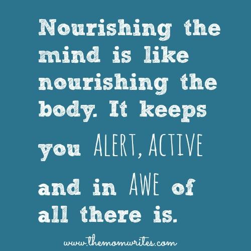 Nourishment Quotes  Quotesgram