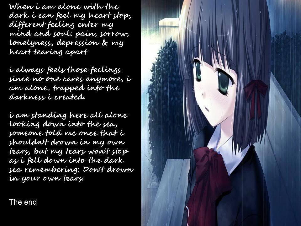 Sad Anime Quotes. QuotesGram