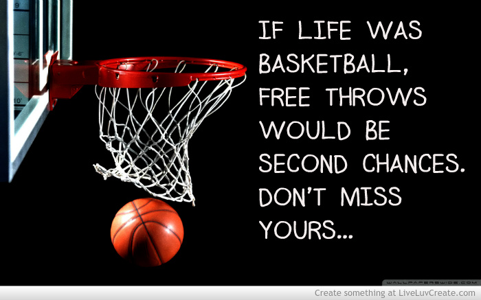Basketball Quotes About Life. QuotesGram