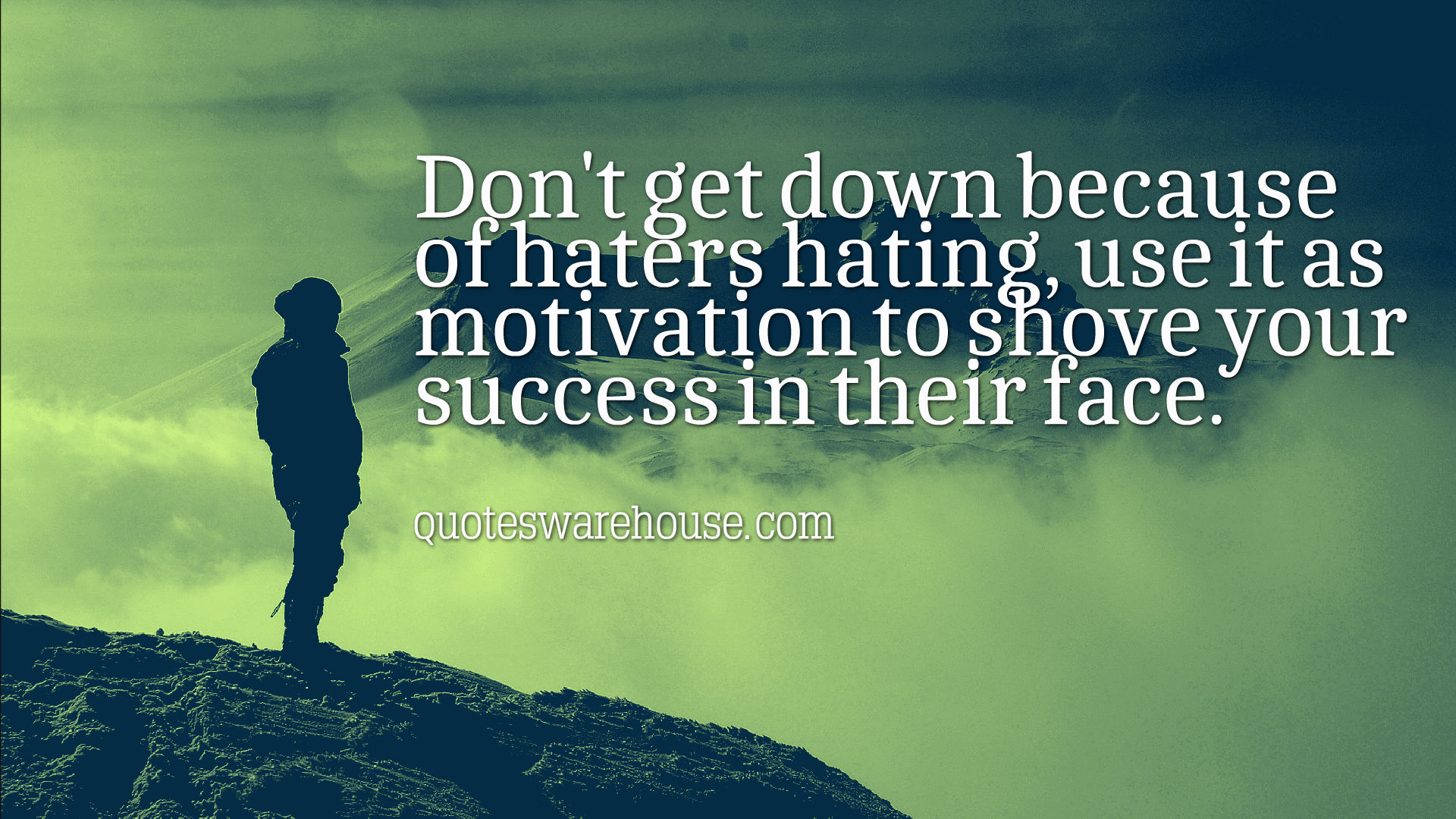 Quotes About Haters And Success. QuotesGram