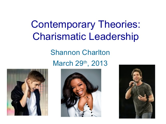 carasmatic leadership essay Despite the impression that charismatic leadership is dissapearing (and is replaced by tranformational leadership), we should point out that in today's society.