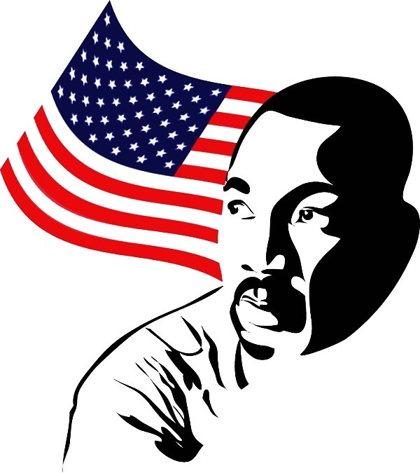 2015 MLK Holiday Clip Art