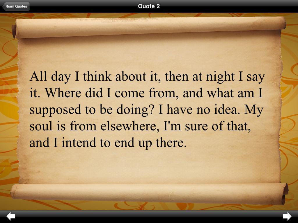 Jalaluddin Rumi Quotes. QuotesGram
