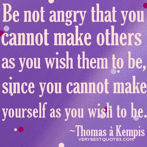 Anger Problems Quotes And Pictures: We Cannot Control Others Behavior Quotes. QuotesGram