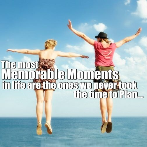 Topic on memorable moment