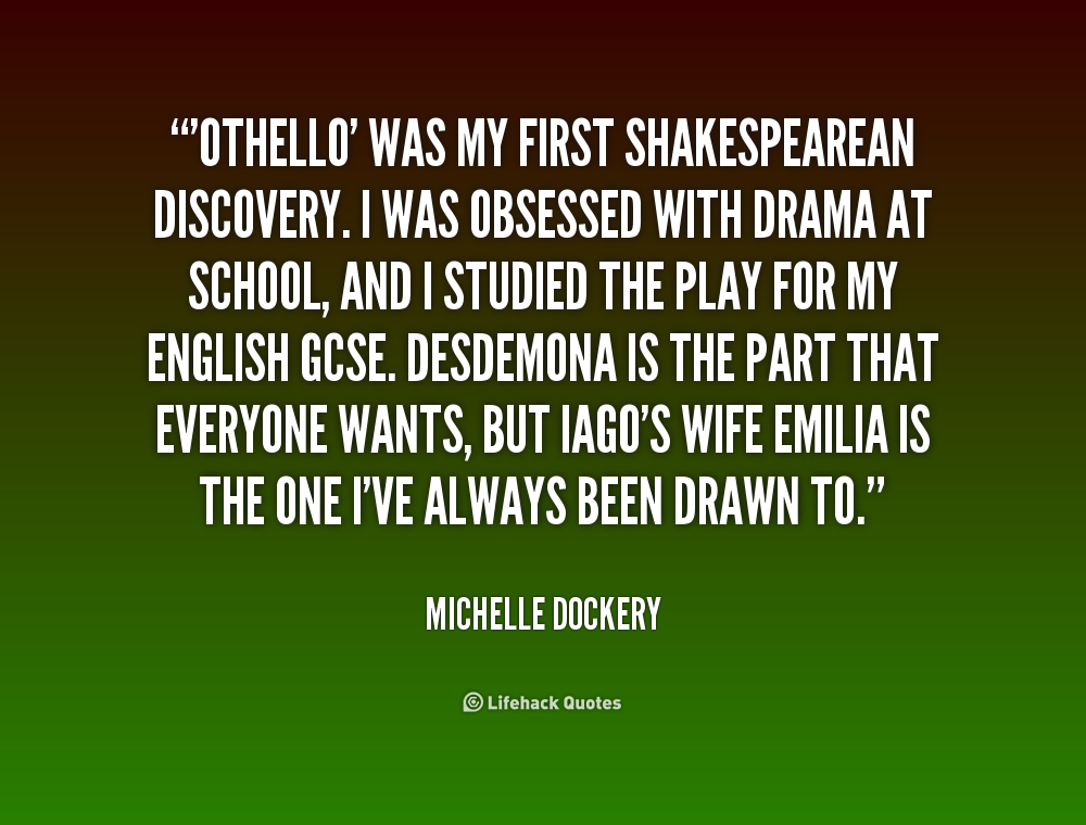 othello quotes Othello - a racist play, free study guides and book notes including comprehensive chapter analysis, complete summary analysis, author biography information, character profiles, theme analysis, metaphor analysis, and top ten quotes on classic literature.