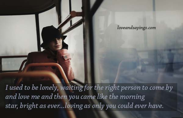 The waiting right man for 30 Love