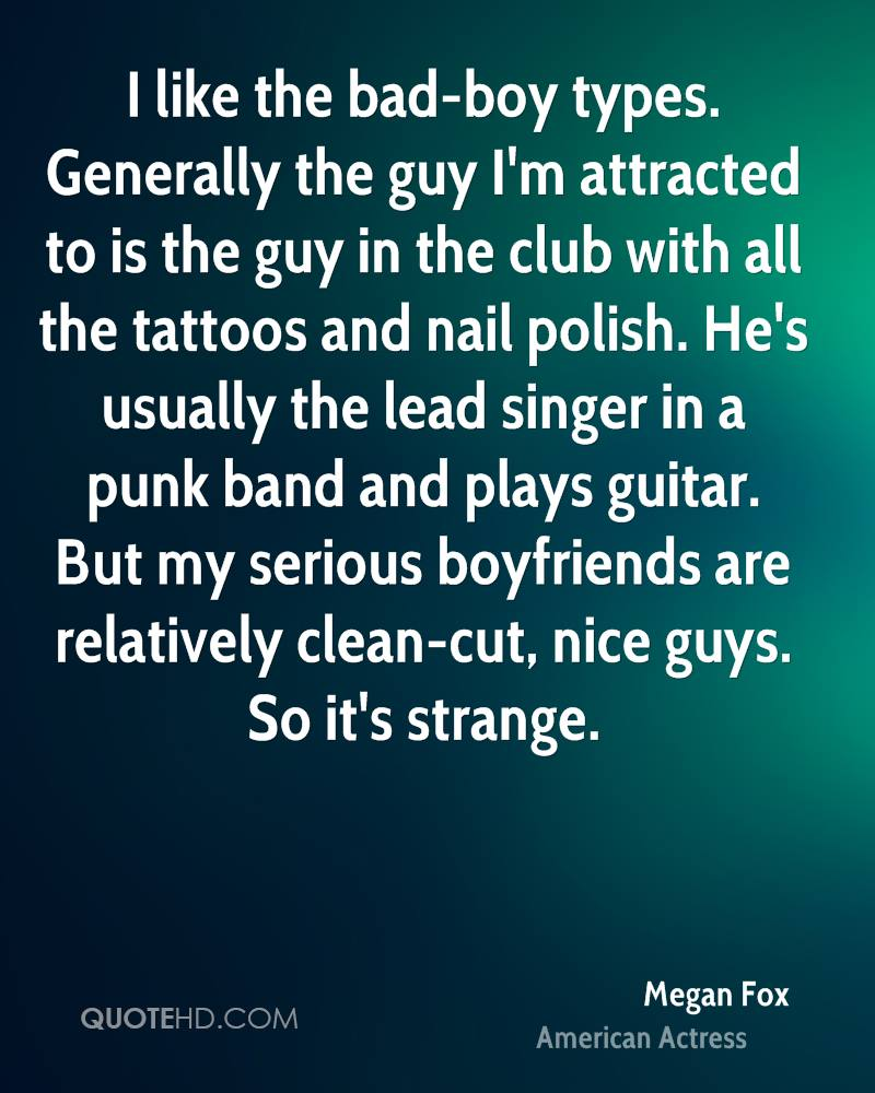 Bad guys dating
