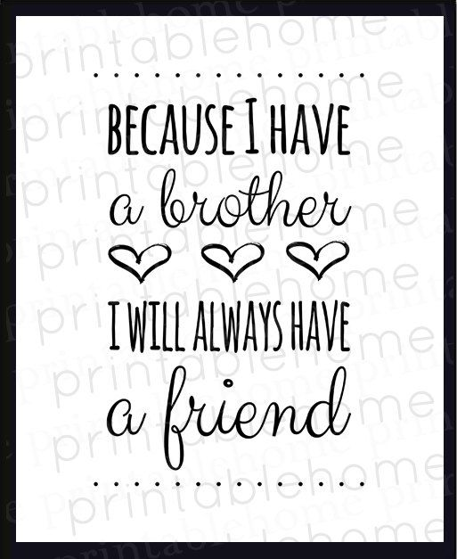 Good Quotes For Brother: Thankful For My Brother Quotes. QuotesGram