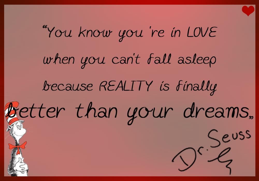 Dr Seuss Quotes About Love Quotesgram