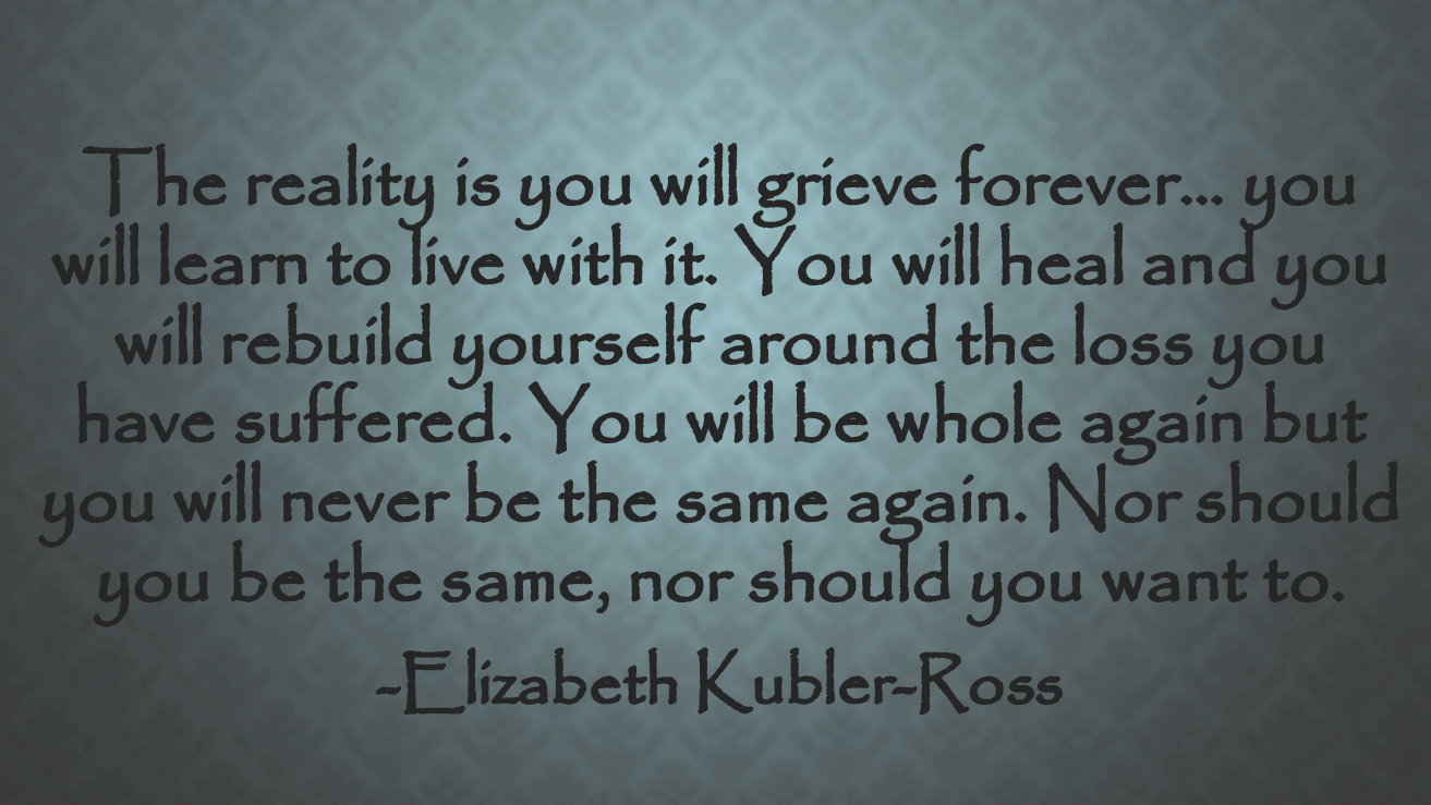 the stages of death in elizabeth kubler ross on death and dying On death and dying research papers examine a book by elizabeth kubler ross that describes stages through which someone close to a terminally ill patient goes through.