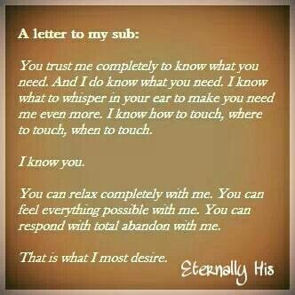 dom sub relationship quotes