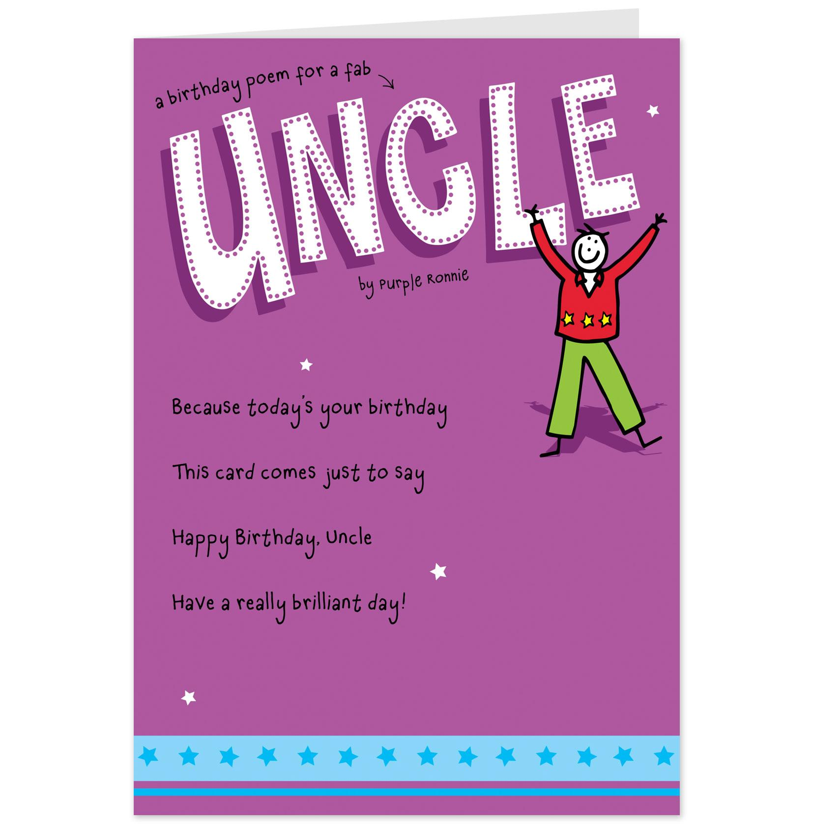 Quotes About Uncles Birthday. QuotesGram