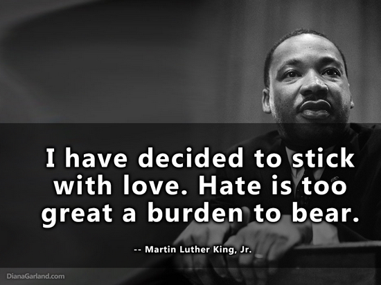 Stick With Love Martin Luther King Quotes. QuotesGram