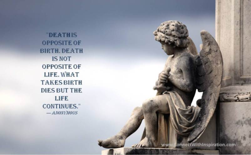 20 Inspirational Quotes On Life Death And Losing Someone: Comforting Quotes About Death. QuotesGram