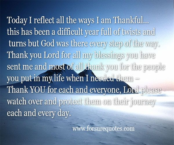 Inspirational Quotes About Positive: Thank You Blessing Quotes. QuotesGram